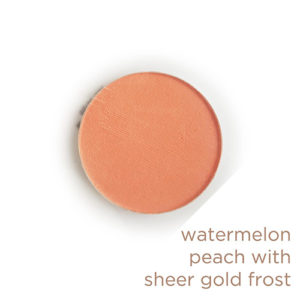 Fulfillment - Watermelon Peach with Gold Satin Finish