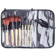 Ever Bilena 8 pcs. Wooden Brush Set with Pouch