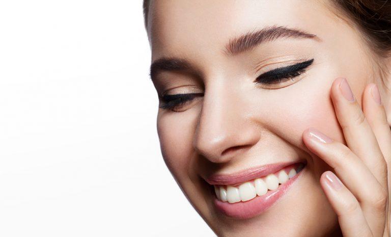 makeup glowing skin