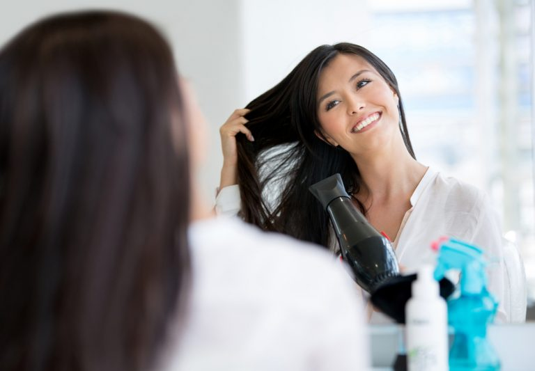 blowdrying tips