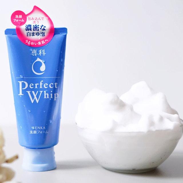 best japan facial cleanser senka perfect whip