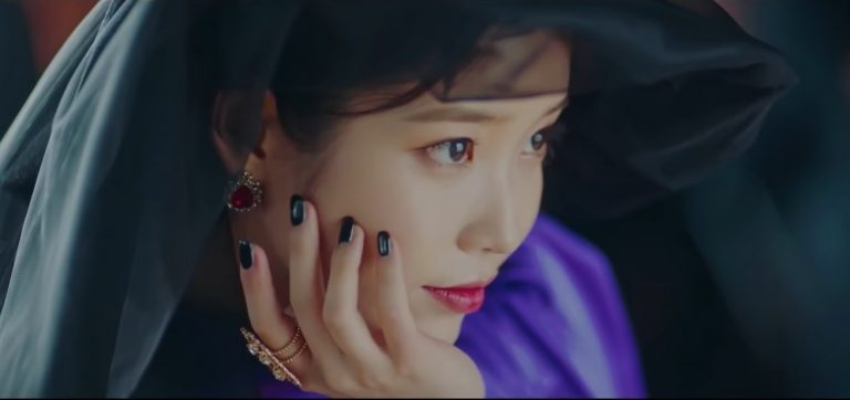 IU hotel del luna nails inspiration nail art
