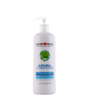 Human Nature Peppermint Shampoo + Conditioner