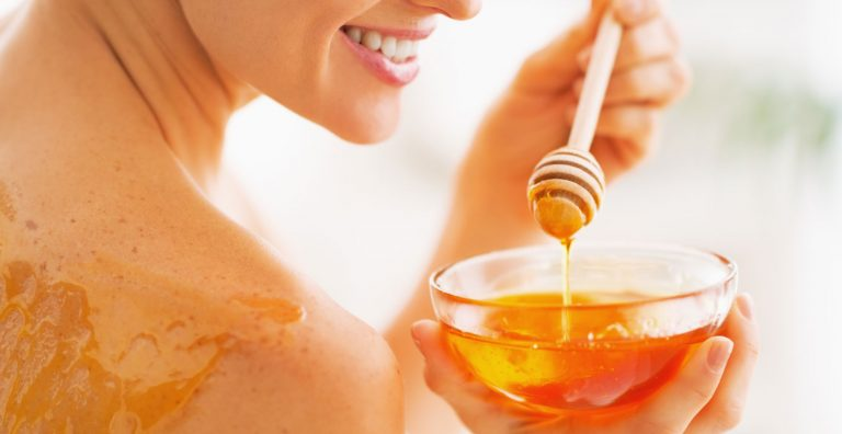 diy beauty honey for skin hair and nails